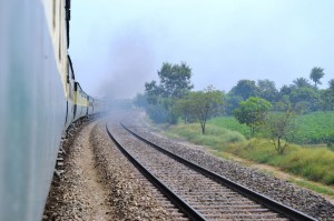 The train journey from Quetta to Lahore goes over a distance of approximately 1300 km – right across Pakistan. It took us 36 hours – 36 hours, which were quite an adventure, but, to be honest, which we don't really want to repeat – especially not with the heat during this time of the year. [...]