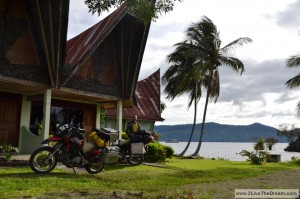 Our accomodation at Lake Toba