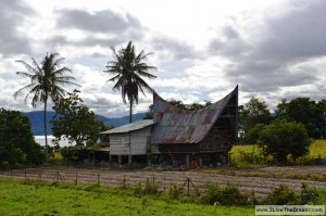 Typical Batak House