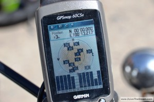 GPS shows 0°