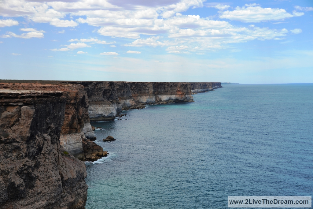 The cliffs of the Nullarbor