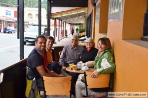 Overlander cafe in Queenstown